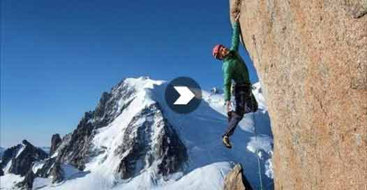 Edu Marin Smashes Chamonix's Digital Crack In A Single Pitch