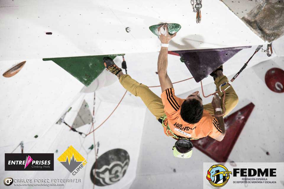 Javier Cano obtains gold in the Spanish Difficulty Cup