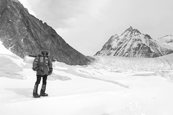 We interviewed Alex Txikon