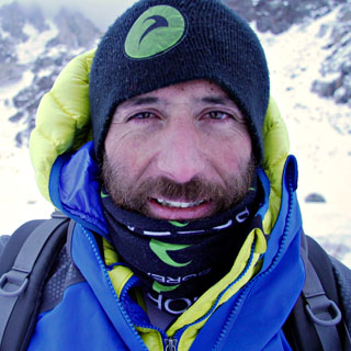 Alex Txicon Perfil on Nanga Parbat